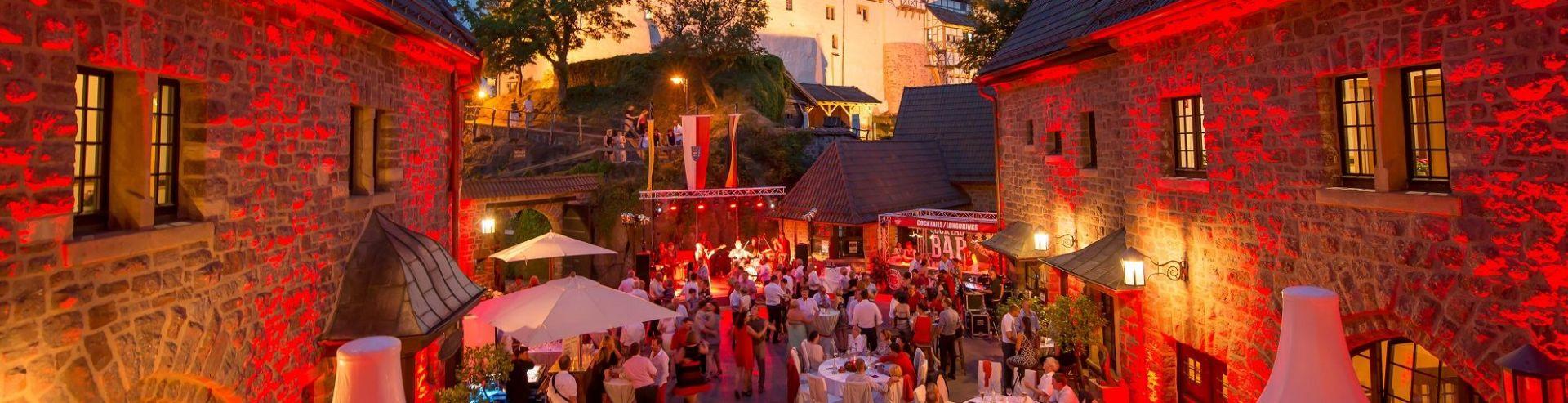 Bild zu Sommervergnügen auf der Wartburg - Die Ballnacht für alle Sinne