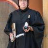 Hajo Laaß als Martin Luther mit Wein