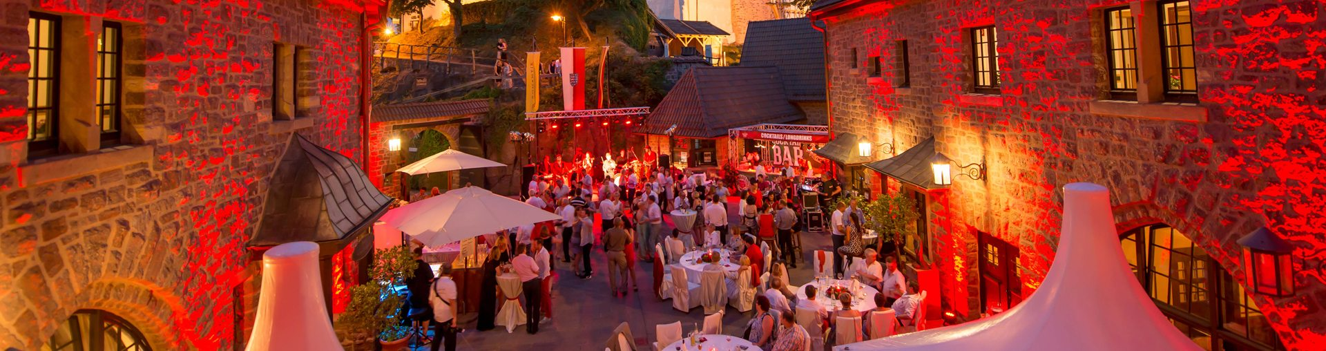 Bild zu 13. Sommervergnügen auf der Wartburg – Die Ballnacht für alle Sinne