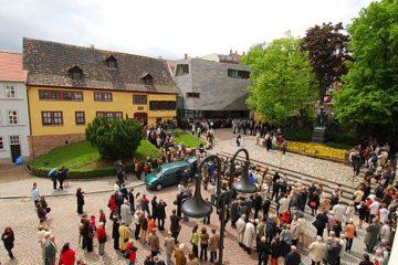 Bachhaus Eisenach Neueroeffnung  Mai