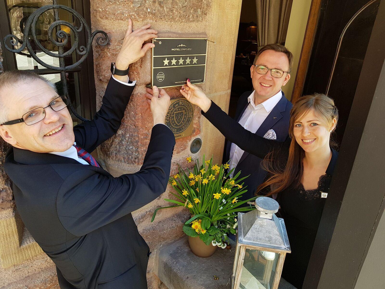 Reklassifizierung Romantik Hotel auf der Wartburg
