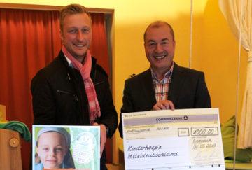 1.000 Euro an das Kinderhospiz Mitteldeutschland gespendet