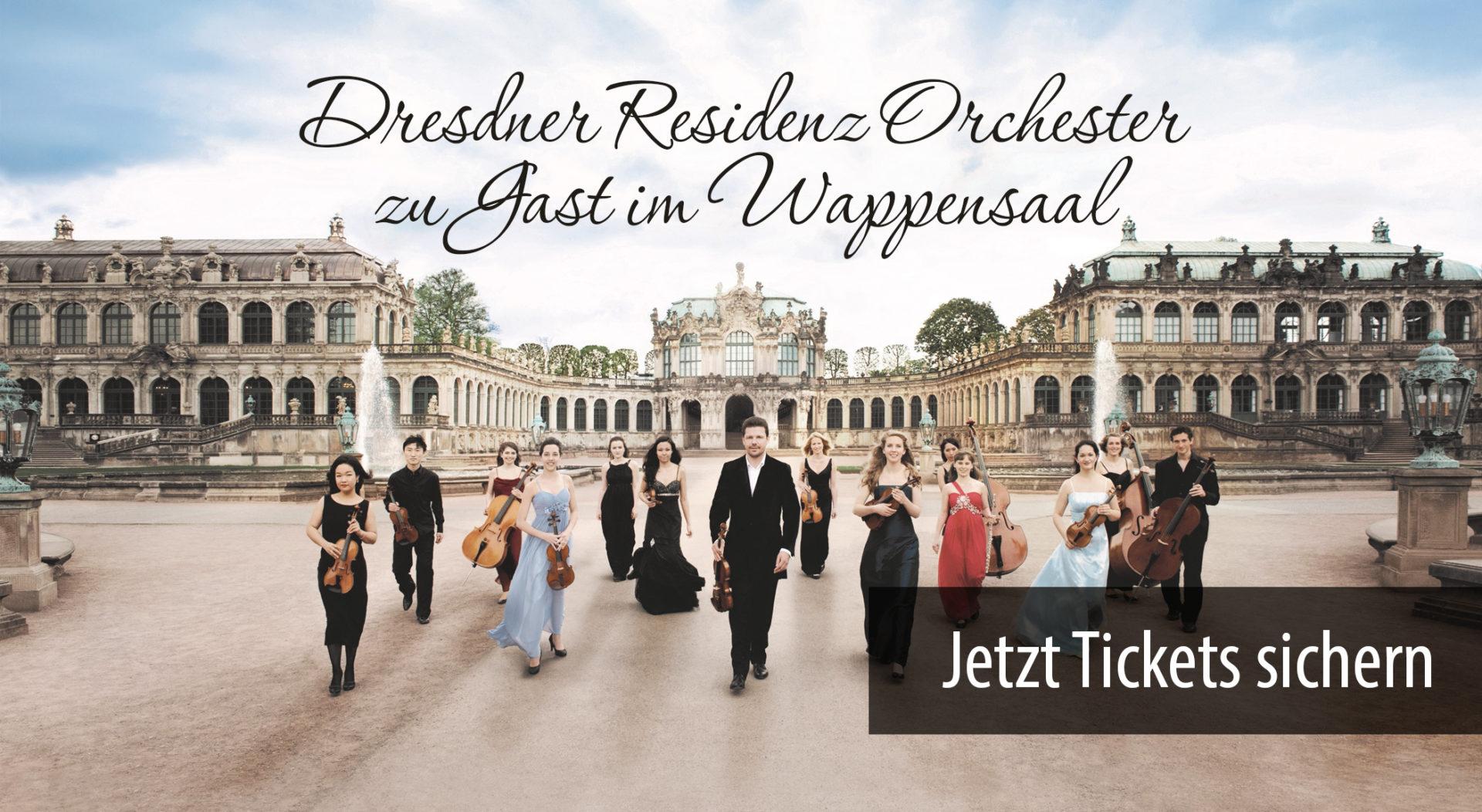 Dresdner Residenz Orchester zu Gast im Wappensaal