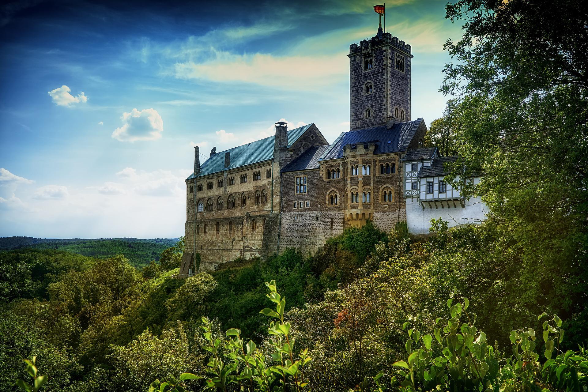 Wartburg In Eisenach Osterspaziergang Mit Tannhaeuser Um Die Wartburg