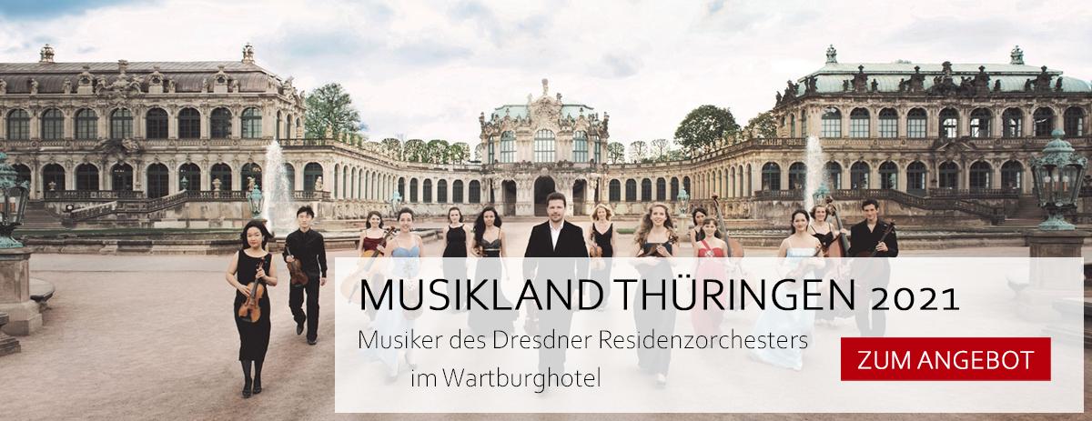Konzerte im Wartburgsaal beim Musikland Thüringen 2021 auf der Wartburg
