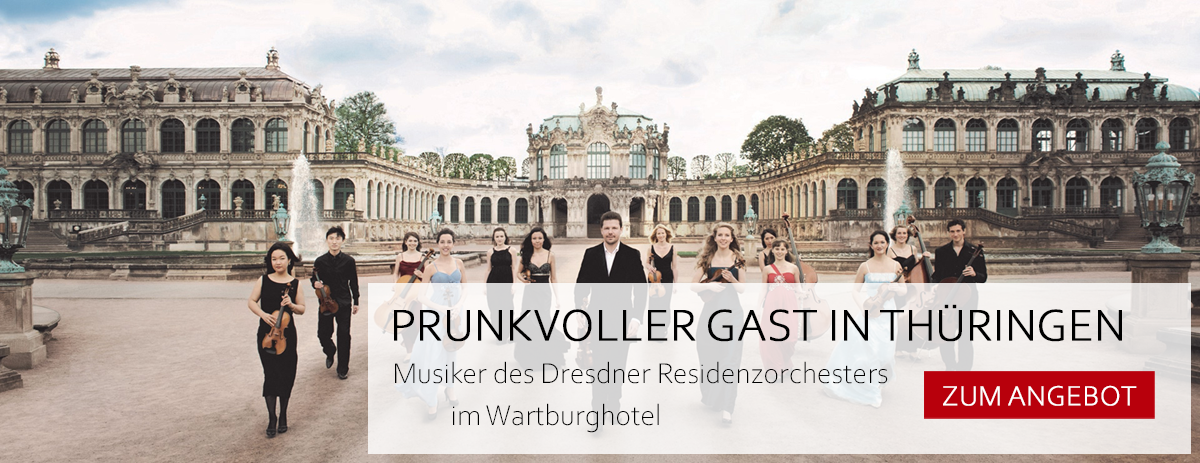 Angebot Prunkvoller Gast in Thüringen auf der Wartburg in Eisenach