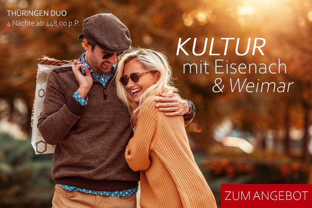 Kultur in EWisenach und Weimar erleben