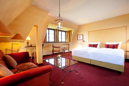 Romantikzimmer im Hotel auf der Wartburg in Eisenach 500
