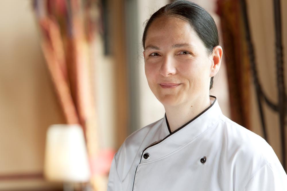 Küchenchefin Annett Reinhardt