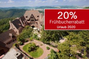 20% Frühbucherrabatt