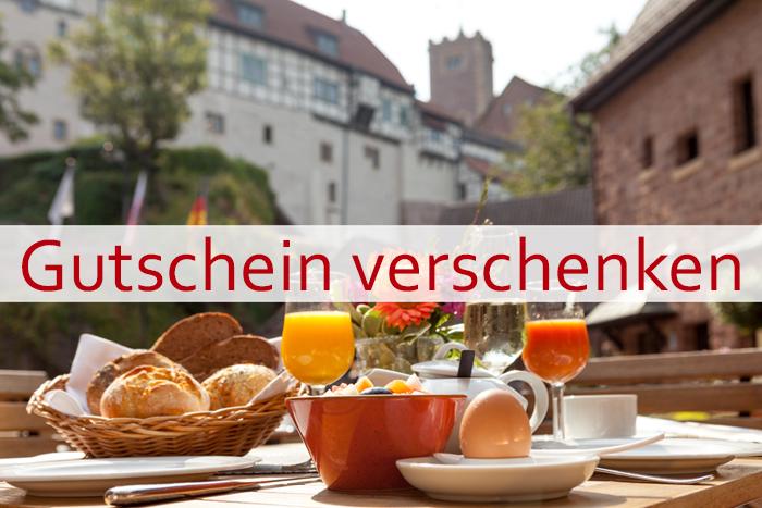 Gutschein für ein Burgfrühstück auf der Wartburg verschenken