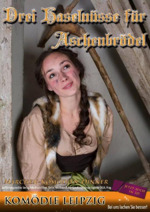 Plakat Aschenbrödel im Wartburghotel in Eisenach