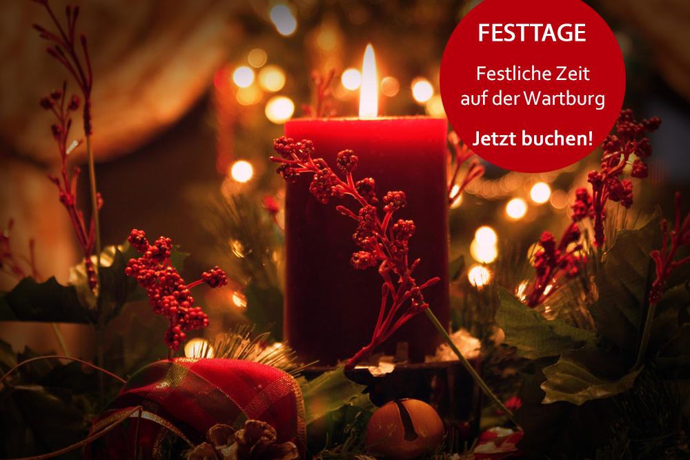 Angebote für die Festtage im Wartburghotel in Eisenach buchen