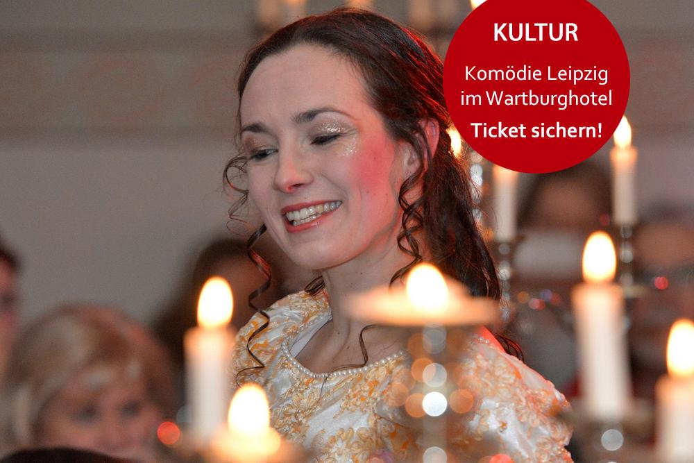 Angebot Komödie Leipzig im Wartburghotel Eisenach