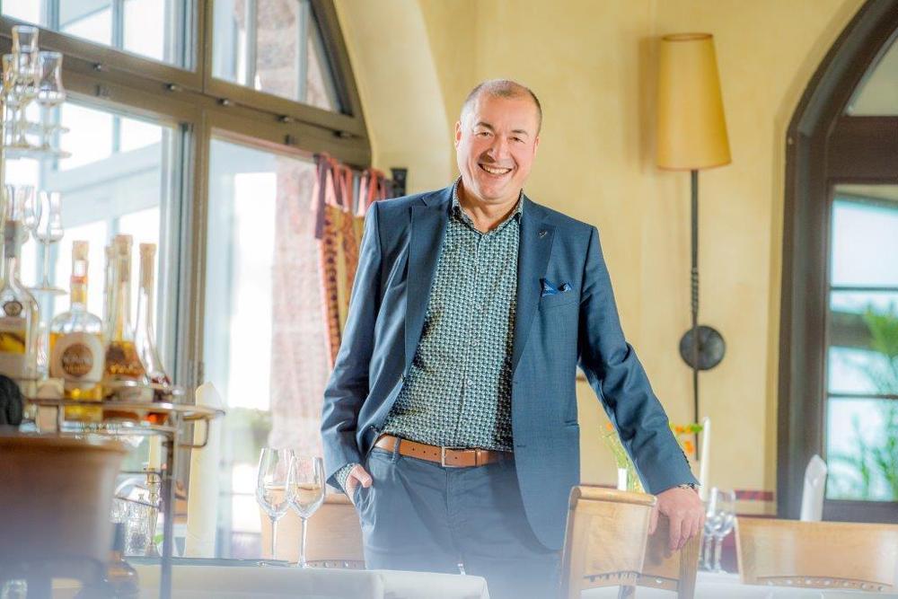 Hoiteldirektor Hannes Horsch im Wartburghotel