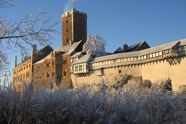 Winterurlaub in Thüringen auf der Wartburg