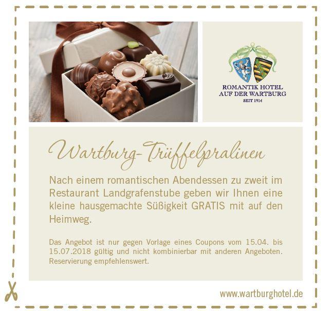 Rabattaktion Wartburghotel - HOTEL AUF DER WARTBURG