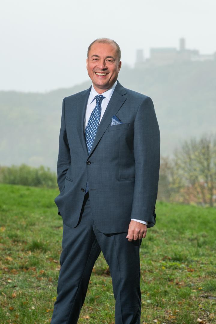Hoteldirektor Hannes Horsch vom Wartburghotel in Eisenach