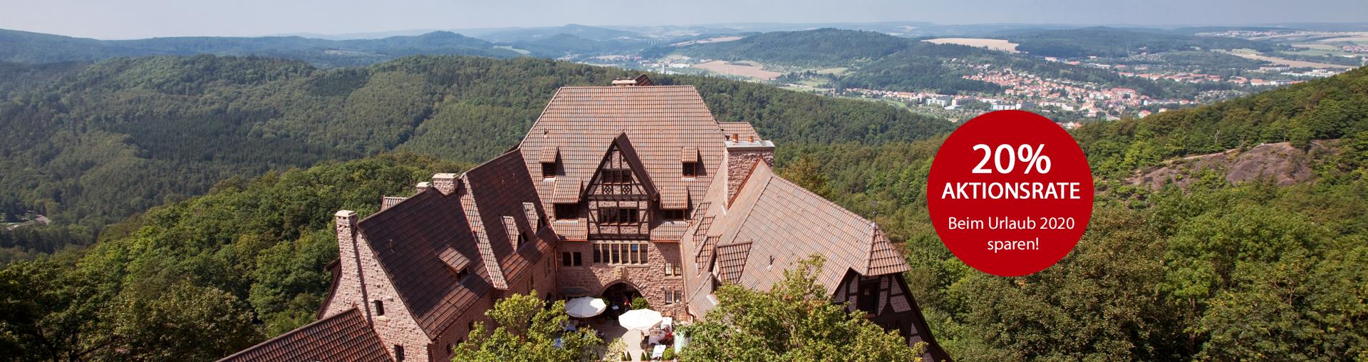 Aktionsrate im Romantik Hotel auf der Wartburg in Eisenach