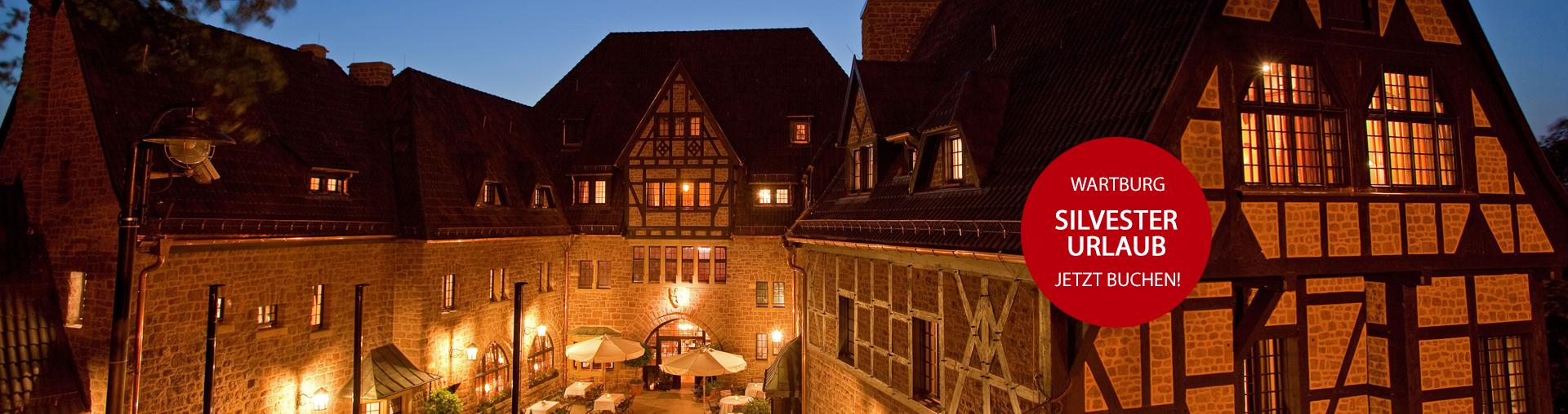 Angebot Silvester im Romantik Hotel auf der Wartburg in Eisenach