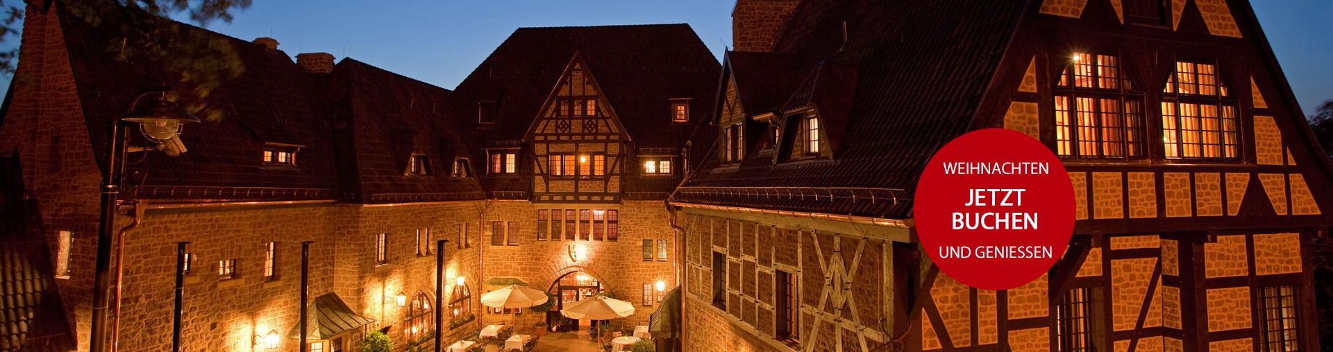 Angebot Weihnachten im Romantik Hotel auf der Wartburg in Eisenach