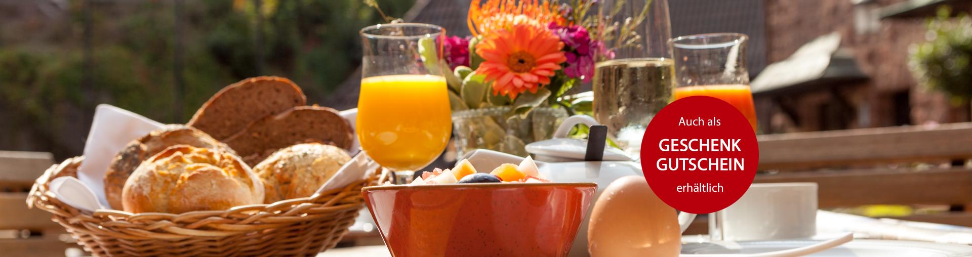 Bild zu Burgfrühstück