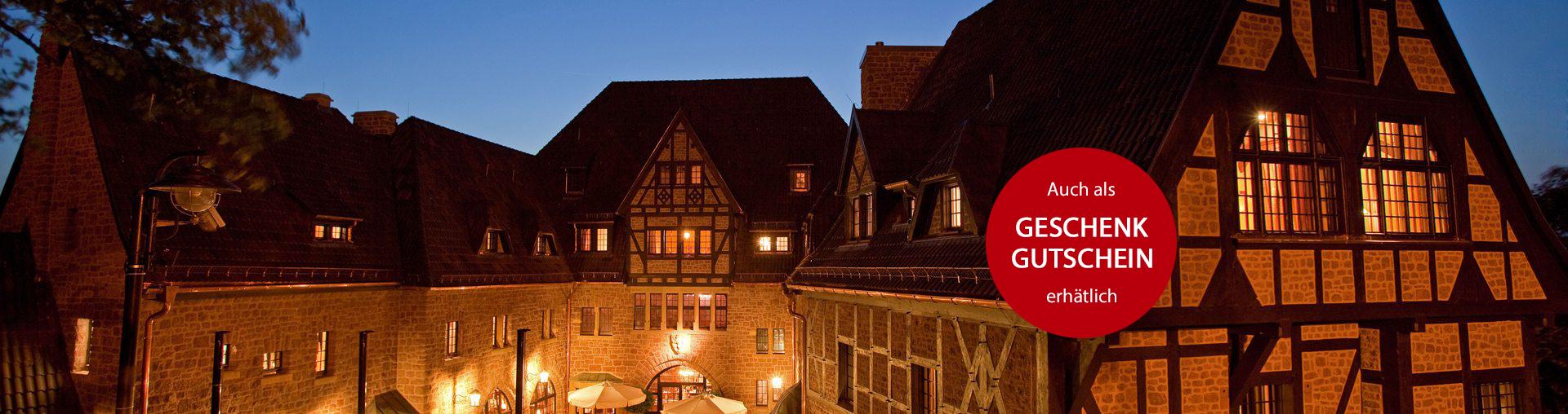Angebot Wartburg Intermezzo im Romantik Hotel auf der Wartburg
