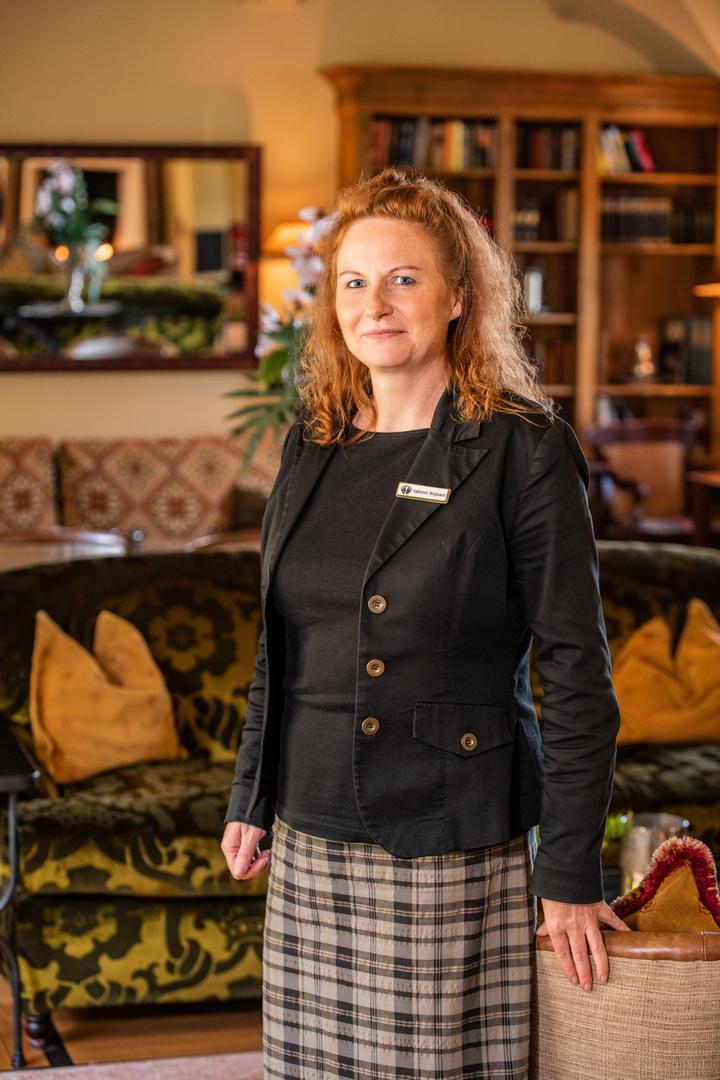 Veranstaltungsleiterin Kathleen Stegmann