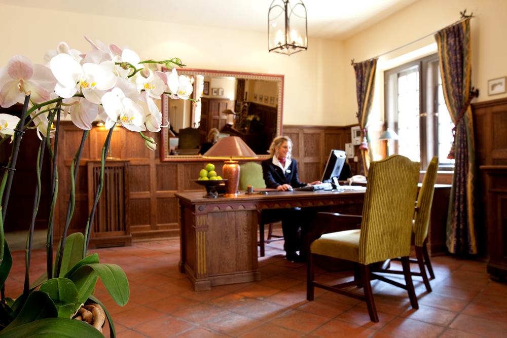 Rezeption im Hotel Wartburg Eisenach 1000