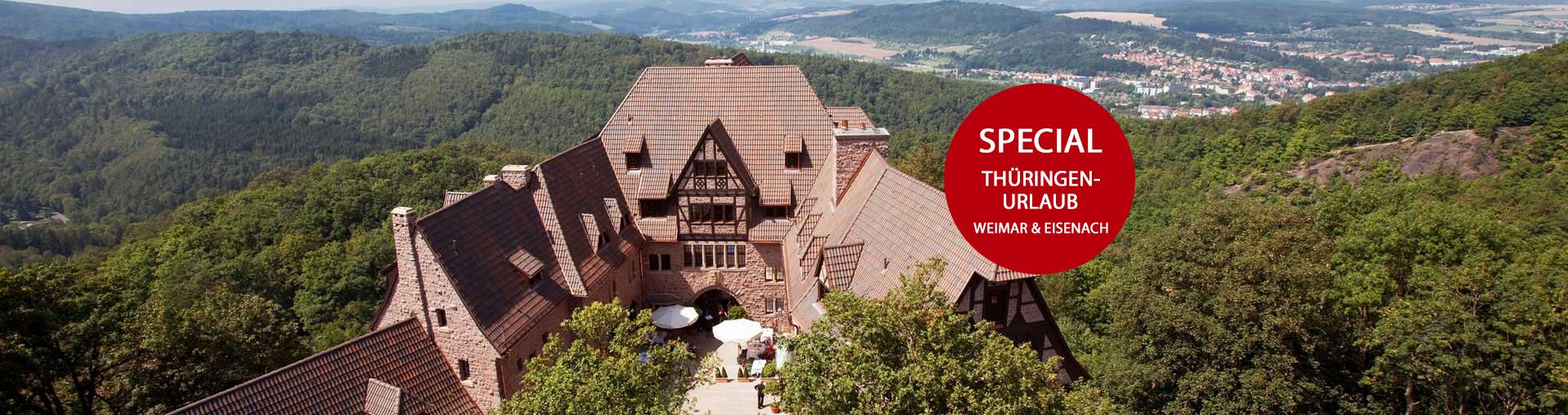 Romantik Hotel auf der Wartburg in Eisenach Special Thüringen Urlaub