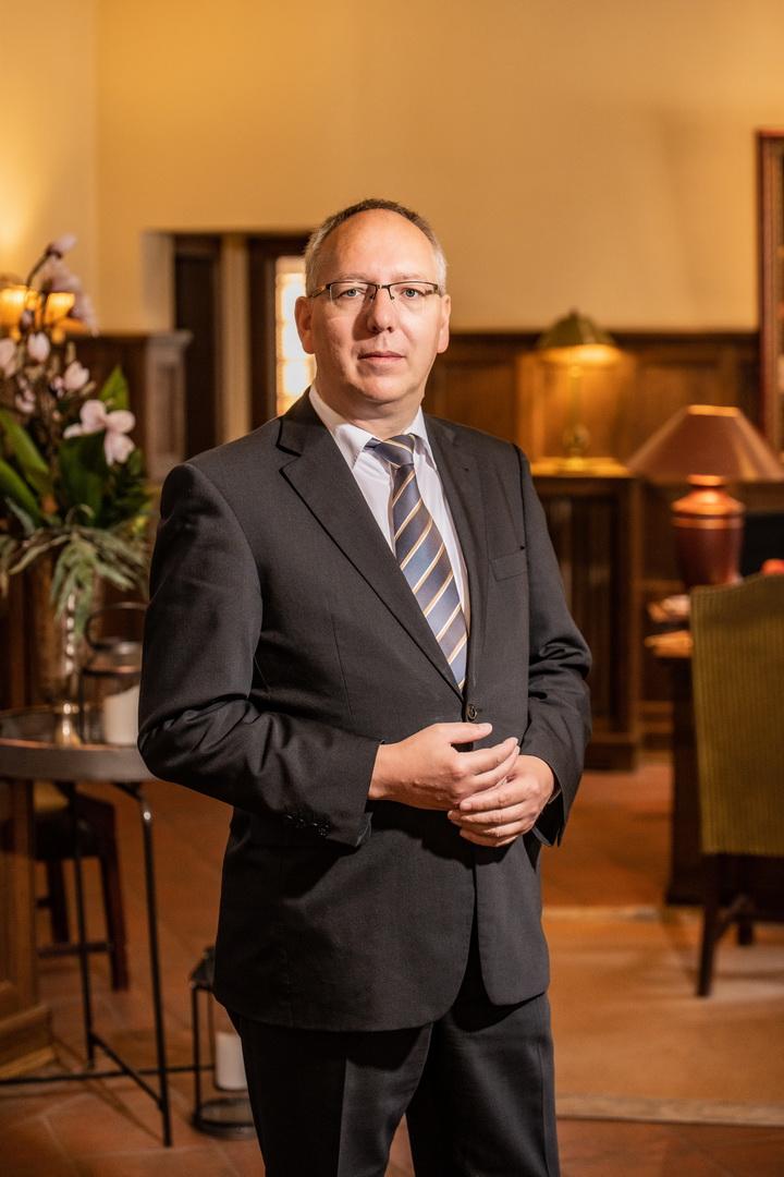 Empfangsleiter Sören Macholdt