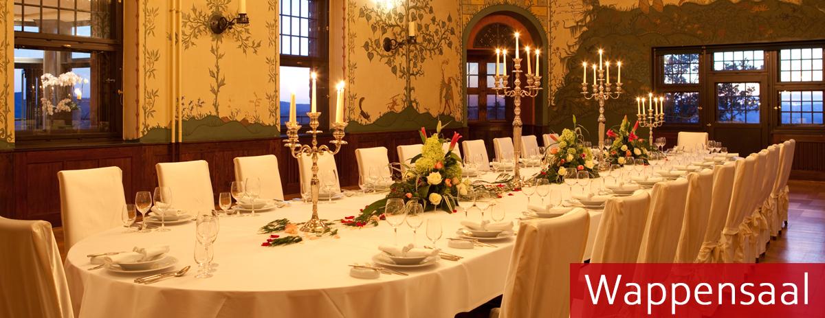 Tagung im Wappensaal vom Wartburghotel in Eisenach