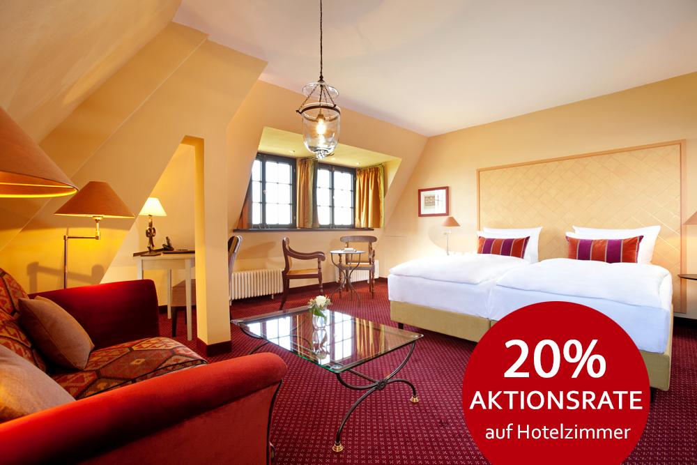 Angebot Aktionsrate auf Hotelzimmer im Wartburghotel in Eisenach buchen