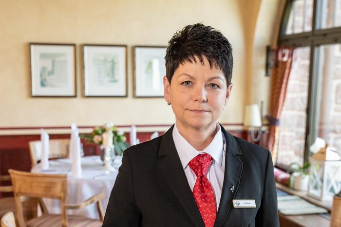 Restaurantleiterin Ute Bach im Wartburghotel in Eisenach