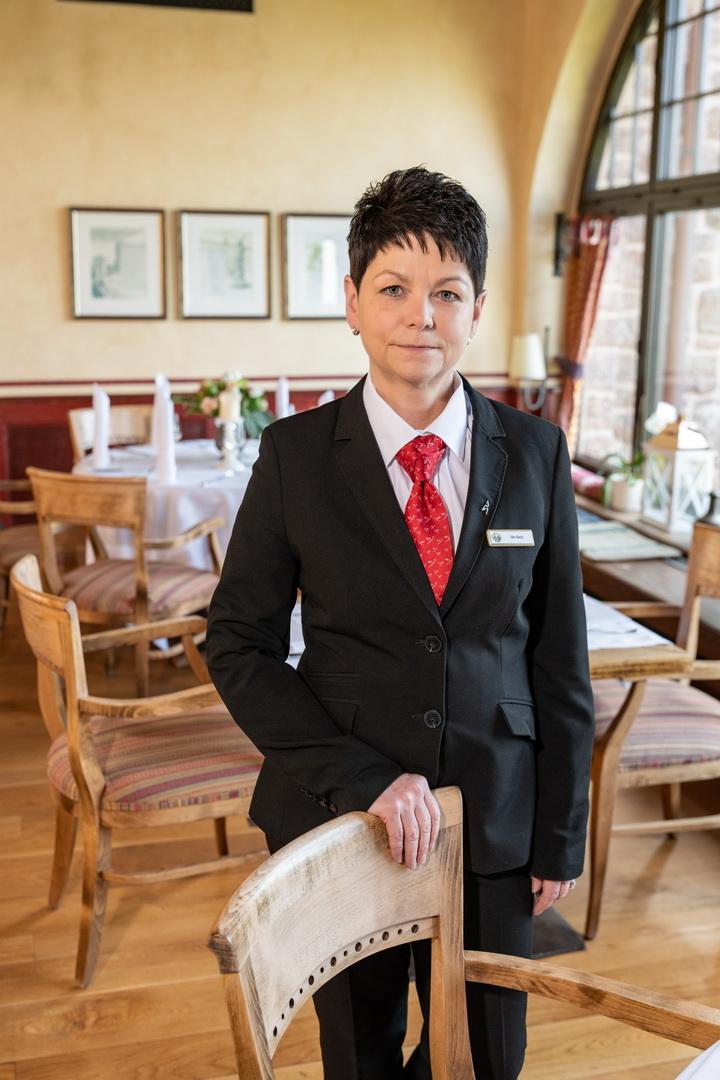 Restaurantleiterin Ute Bach