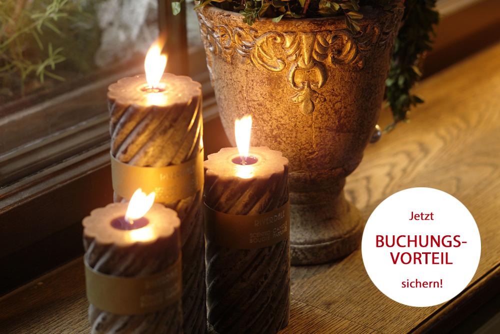 Weihnachtsfeier mit Buchungsvorteil im Romantik Hotel auf der Wartburg in Eisenach